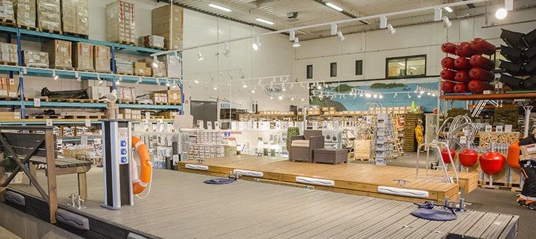 A-Laiturien Raision myymälä