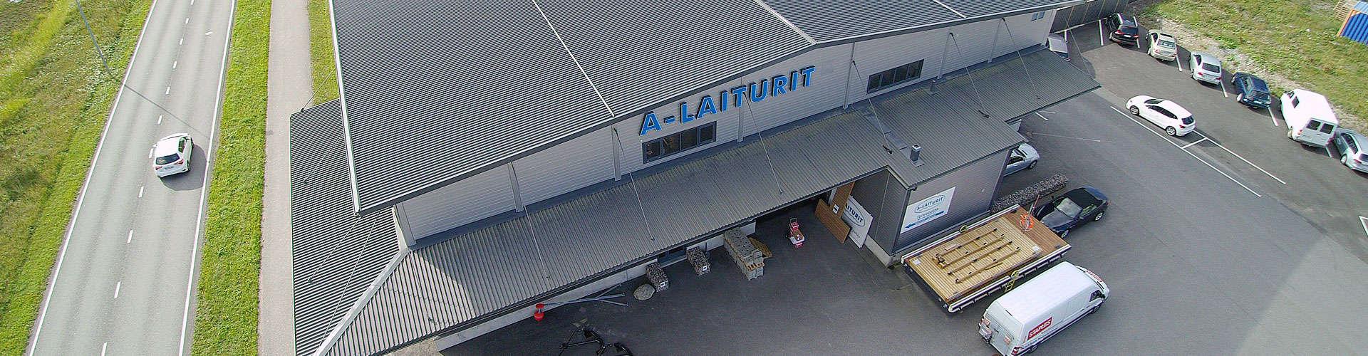 A-laiturit myymälä ulkokuva