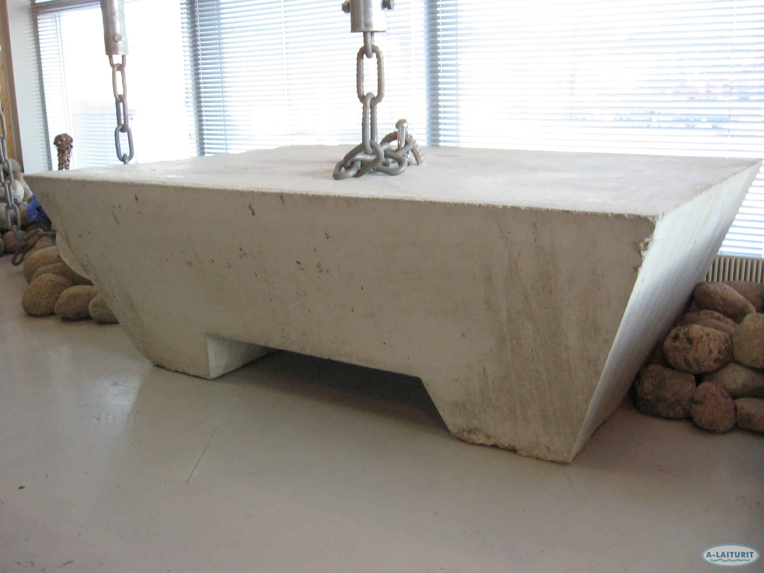 Ankare, betong 3200kg