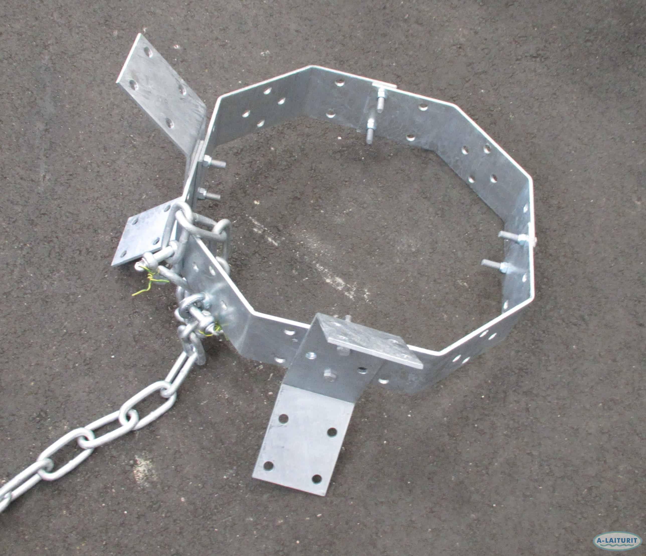 Ankkuri, teräsrengas 36kg koottava KZN