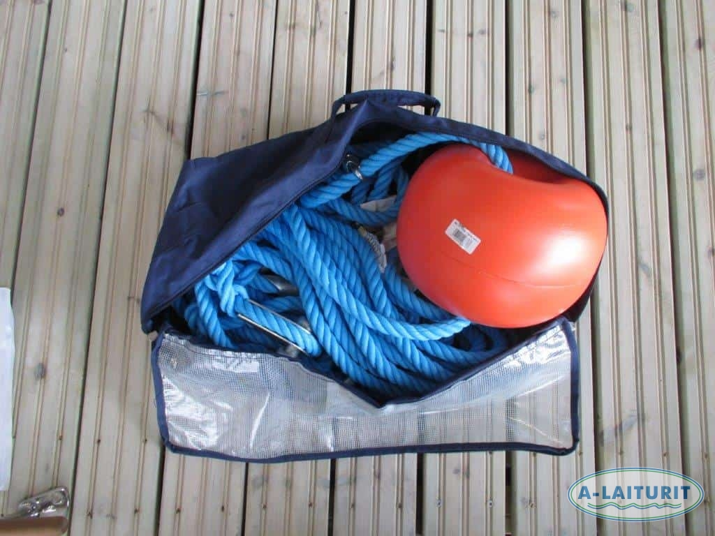 Rope for buoy, 10m 20mm polyethene rope with lead core