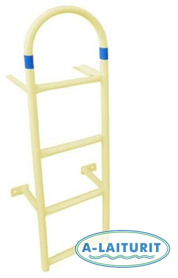 Safety ladder, yellow