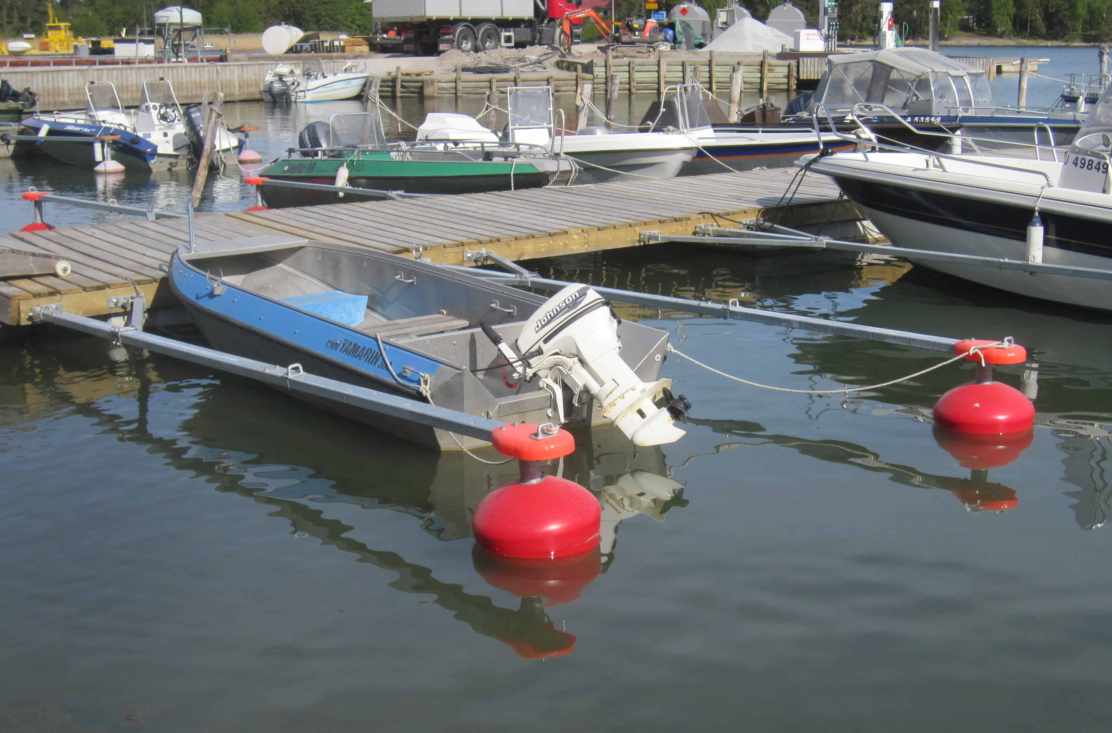 Boat Boom 5m with Float 60L