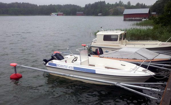 Veneen Kiinnitys Laituripaikkaan