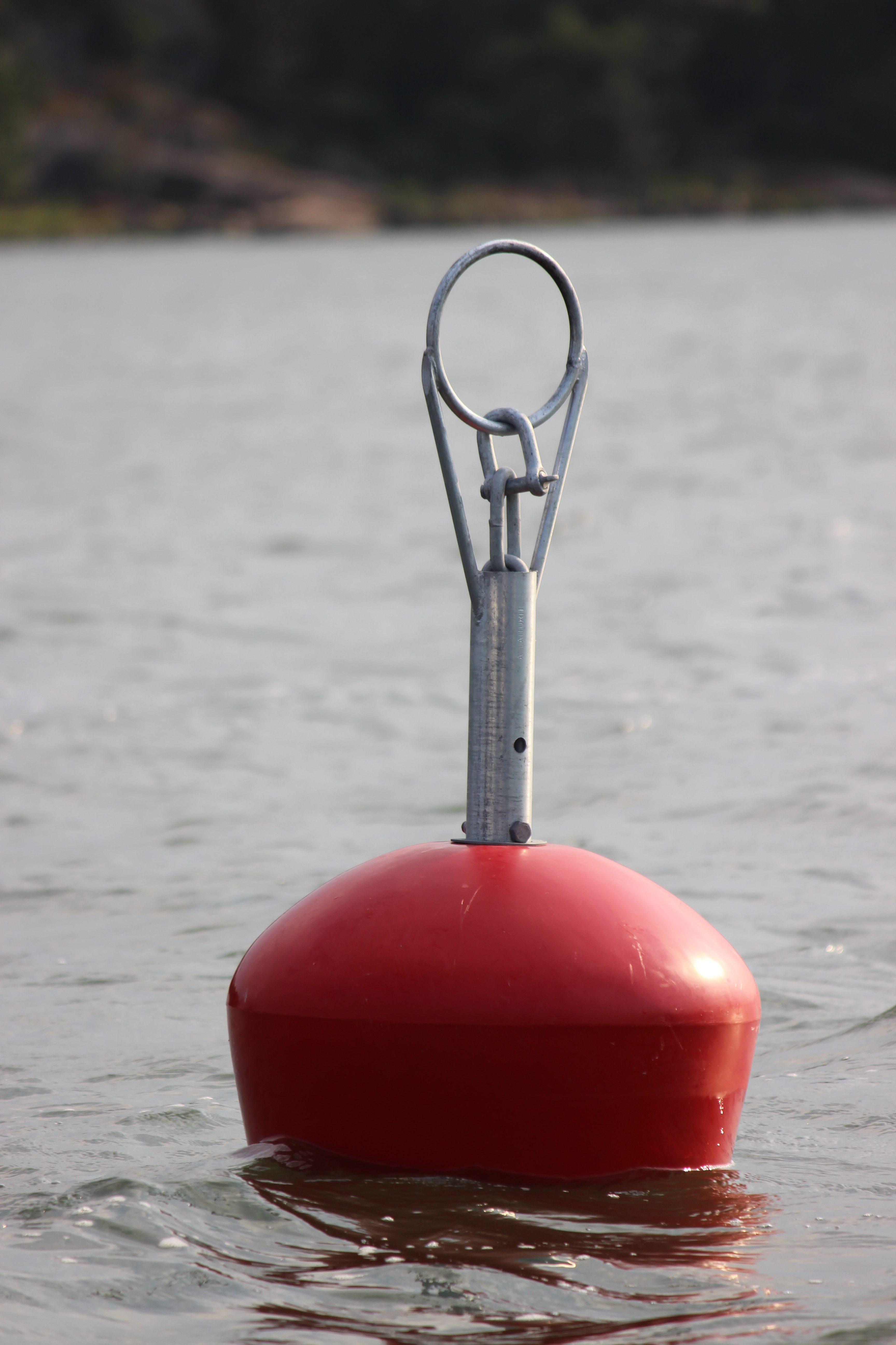 Mooring Buoy 120L, incl. buoy rod