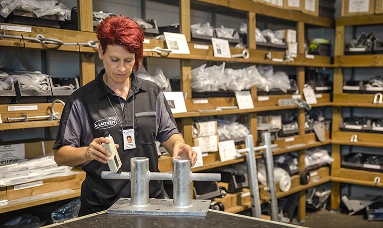 Laadukas laituri syntyy tutkituista ja testatuista materiaaleista