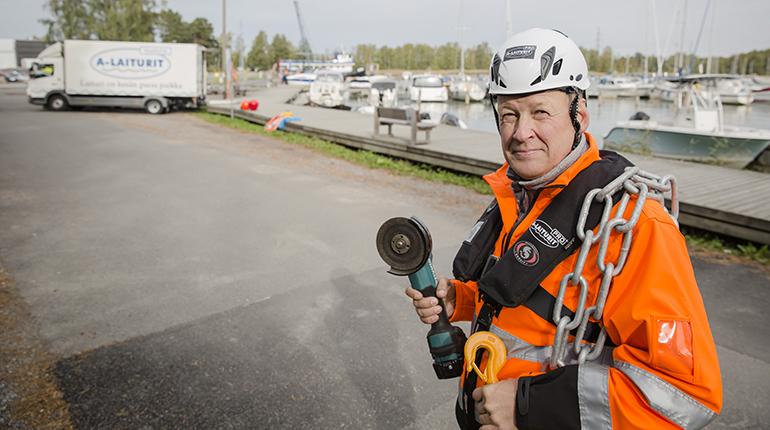 A-Laiturit huoltaa laiturit ja kokonaiset venesatamat