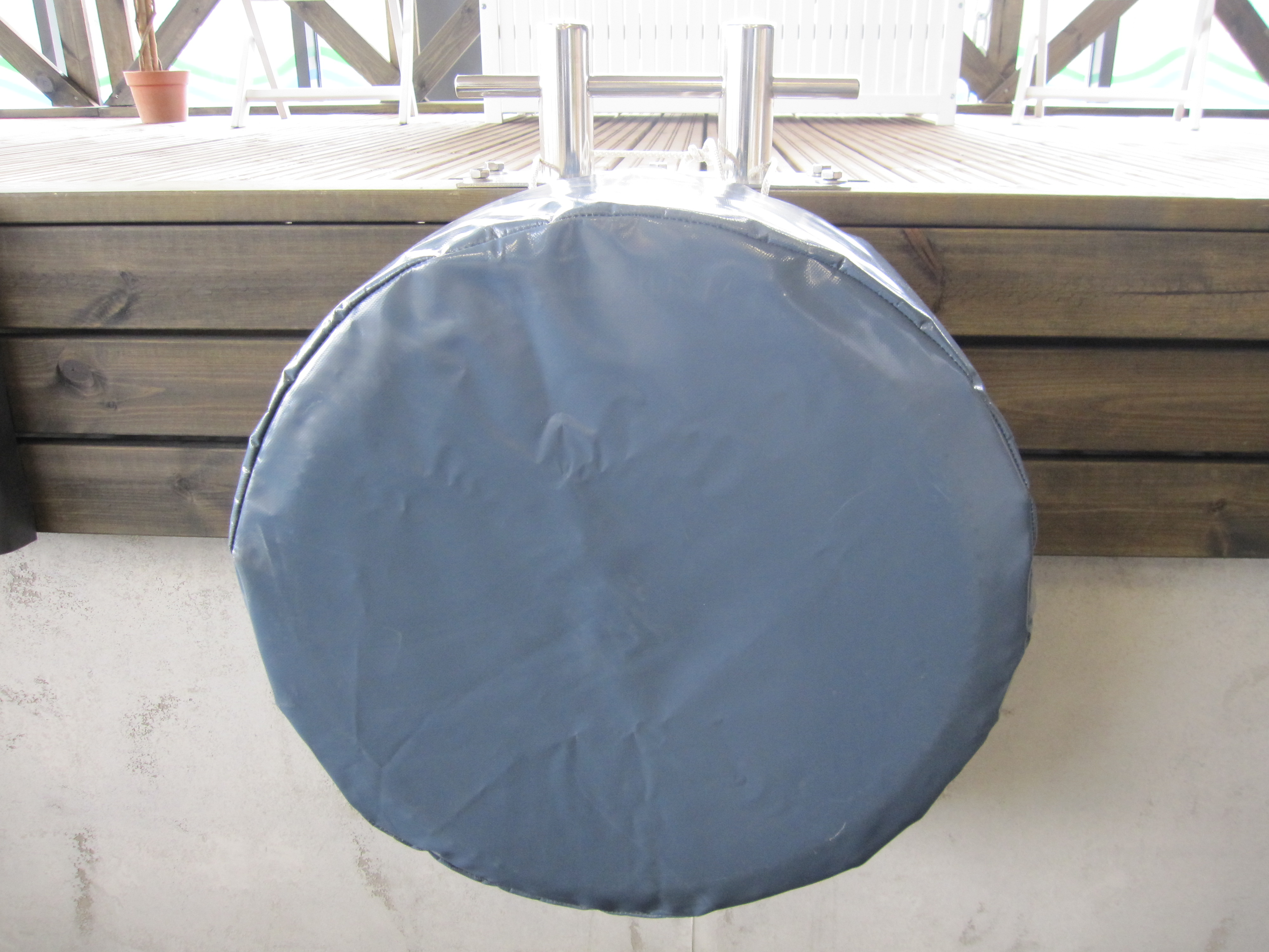 Fender cover for car tire